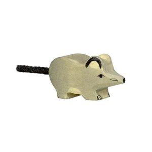 Holztier-Maus-Holztiger