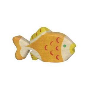 Holztier-Goldfisch-Holztiger