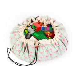 Aufraeumsack-Spielzeugsack-Flamingo-PlayandGo
