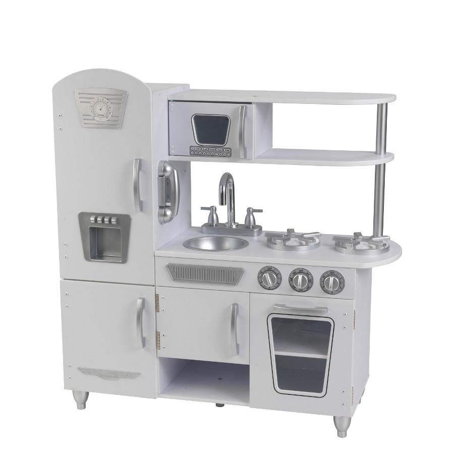 Retro-Küche Weiß