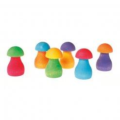 Sortierspiel-Regenbogen-Pilze-Grimms
